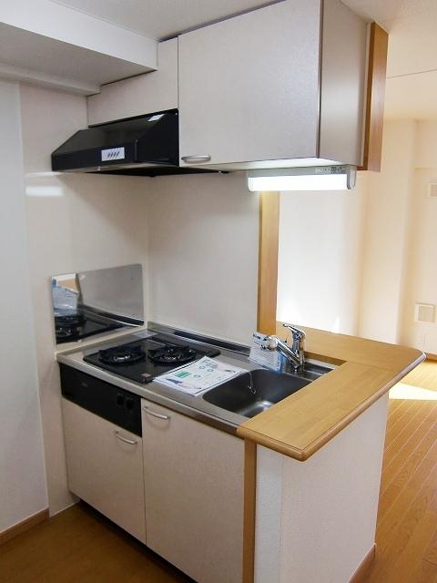 メルヴェーユ 10040号室のキッチン