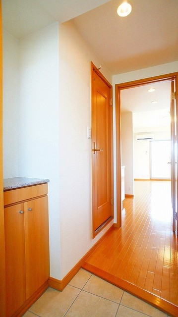 ハピネス北上尾 03030号室の玄関
