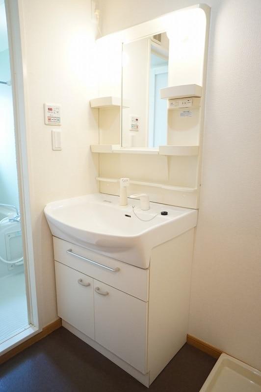 サンパティークⅣ 02010号室の洗面所