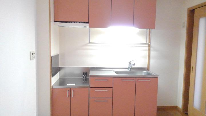 アルモニーA 01020号室のキッチン