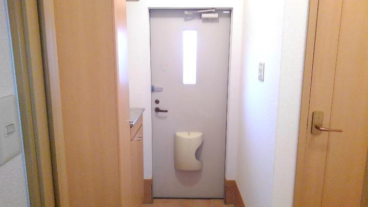 アルモニーA 01020号室の玄関
