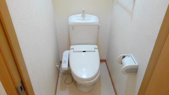 アルモニーA 01020号室のトイレ