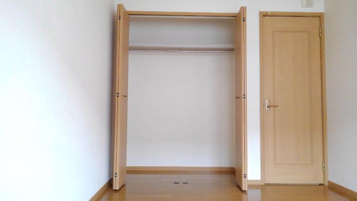 アルモニーA 01020号室の収納