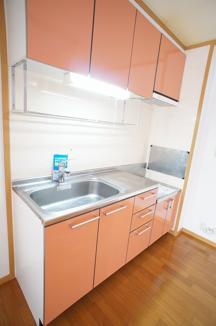 アルモニーA 01030号室のキッチン