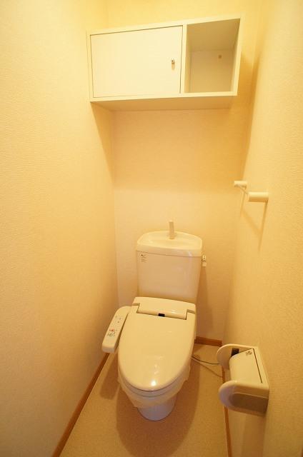アルモニーA 01030号室のトイレ