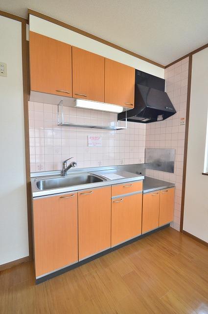 グランディールA 02040号室のキッチン