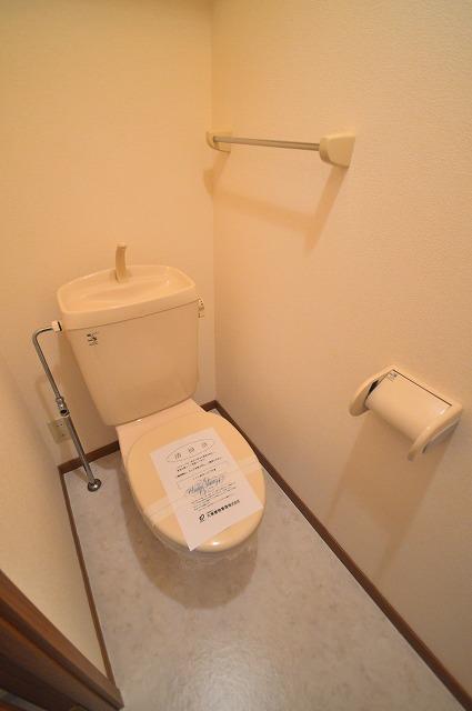 グランディールA 02040号室のトイレ