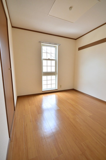 グランディールA 02040号室のベッドルーム