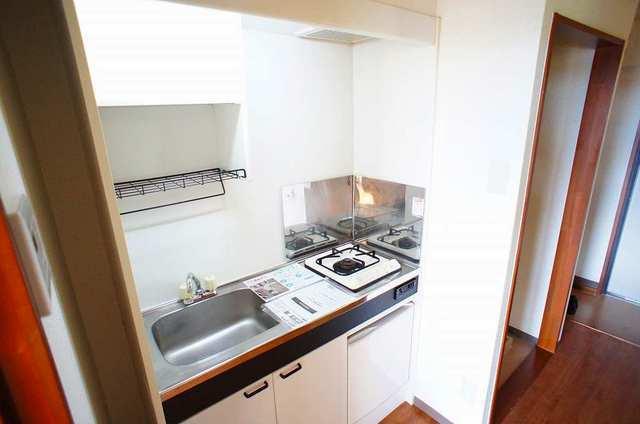 ラカーサ壱番館 01050号室のキッチン