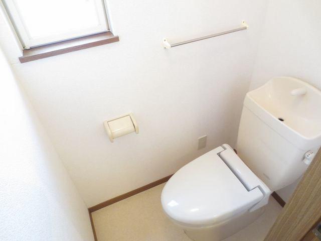 クレストヒルズ 01030号室のトイレ
