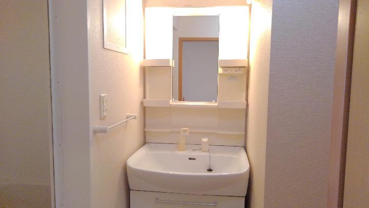 フォンターナ 02010号室の洗面所