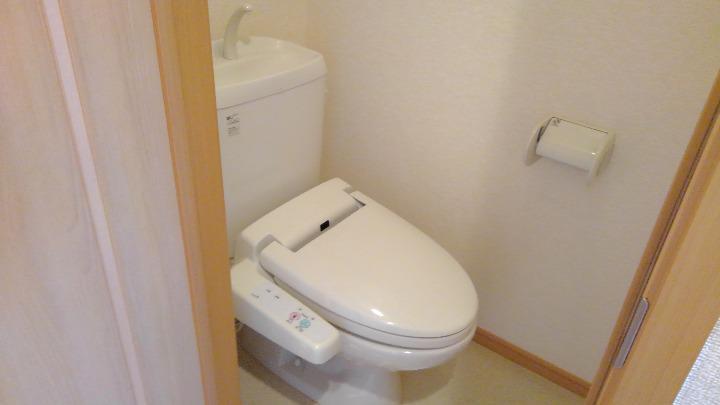 フォンターナ 02010号室のトイレ