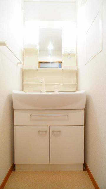 プリムラ 02020号室の洗面所