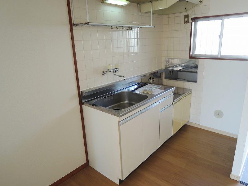 エルディムロックスプリングB 01030号室のキッチン