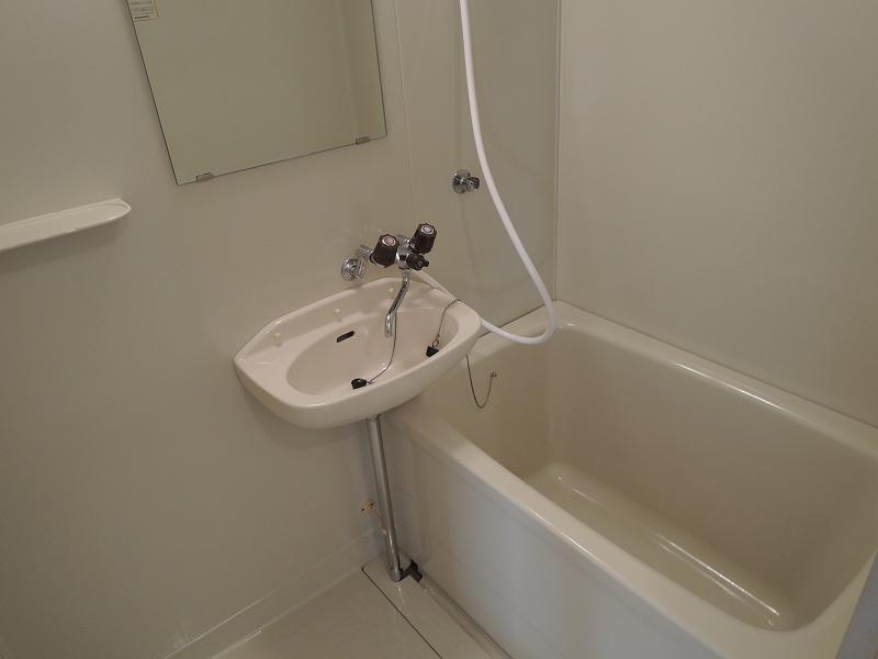 エルディムロックスプリングB 01030号室の風呂