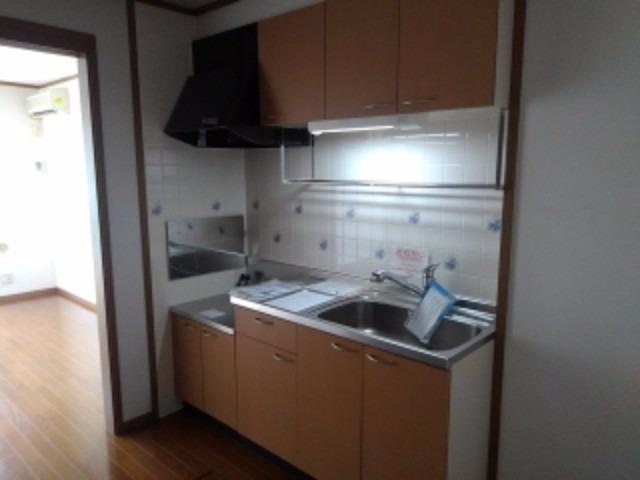 エスポワールB 01010号室のキッチン