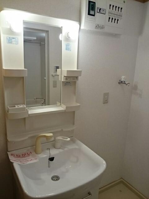 モンシャトー 01010号室の洗面所