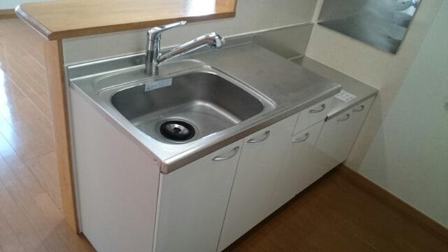 ル-ラルハ-モニ-TI B 02040号室のキッチン
