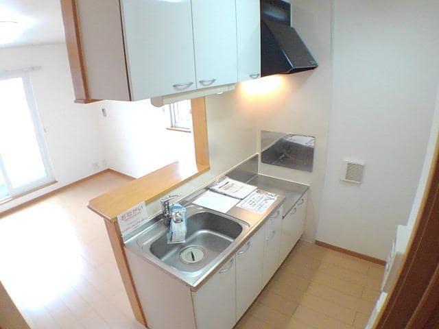 グラン・ファミーユⅡ 02030号室のキッチン