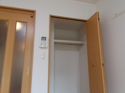 メゾン ソレイユ 01010号室の収納