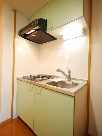 メゾン ソレイユ 03020号室のキッチン