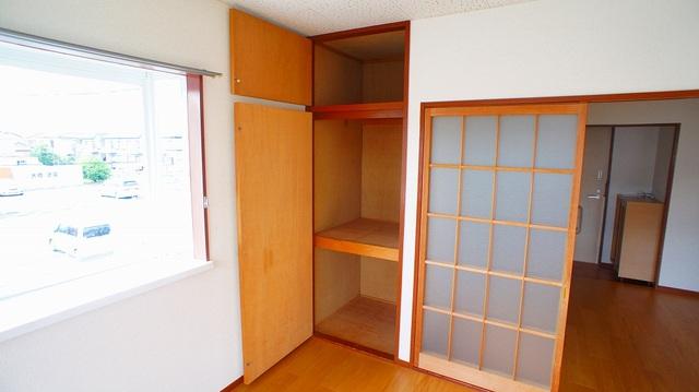 エルディム・城西B 02050号室の収納