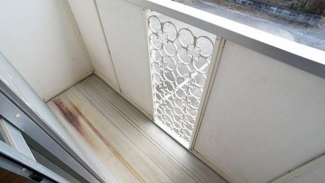 エルディム・城西B 02050号室のバルコニー
