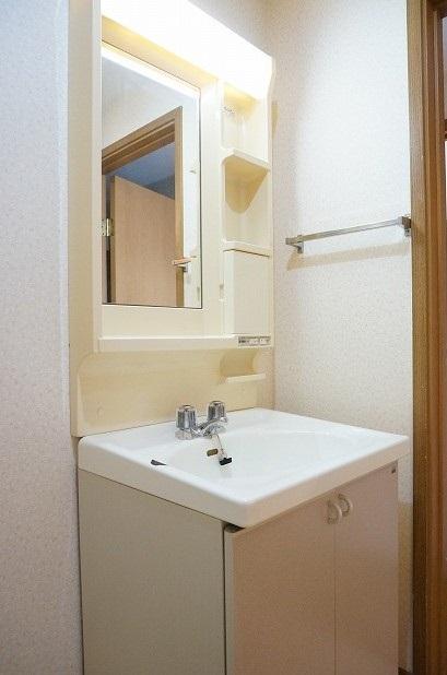 フォレストコートB 02040号室の洗面所