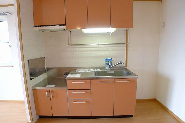 パステークガーデンA 02010号室のキッチン