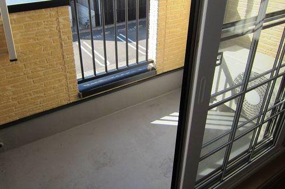 パステークガーデンA 02010号室のバルコニー