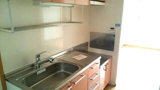ドリームハイツC 02060号室のキッチン