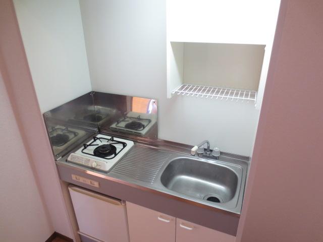 リバティハイムⅡ 01010号室のキッチン