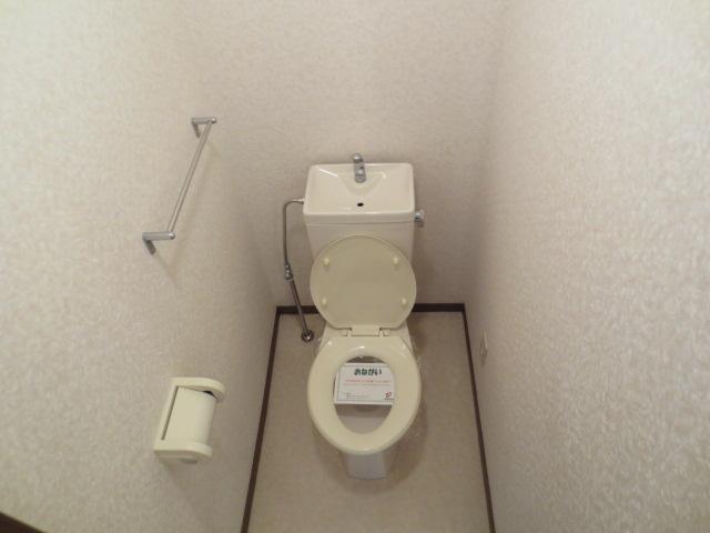 リバティハイムⅡ 01010号室のトイレ