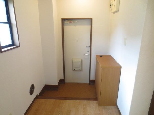 リバティハイムⅡ 01010号室の玄関
