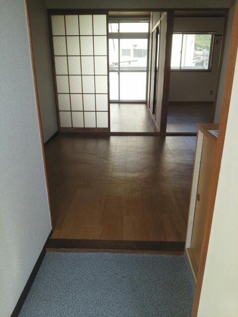 シティハイツ天伯Ⅱ 02030号室の玄関