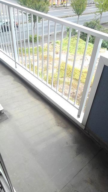 ソシア新宿 03010号室のバルコニー
