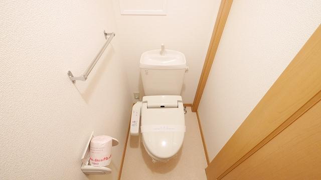 フィオ-レ・彩C 02010号室のトイレ