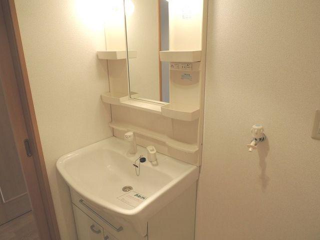 マッティーナ 02010号室の洗面所