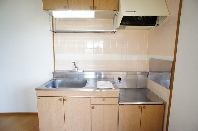 ブリッサ.セレ-ノA 02020号室のキッチン