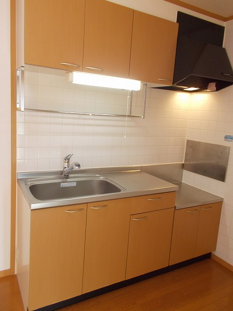 アムールⅠ 01010号室のキッチン