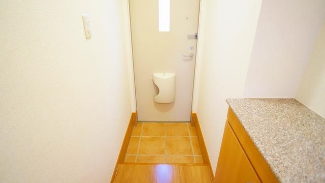 ラ・ルミエ-ル・メゾン Ⅲ 01020号室の玄関