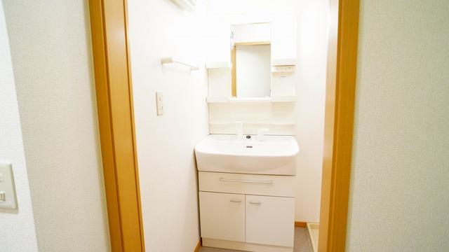 ラ・ルミエ-ル・メゾン Ⅲ 01020号室の洗面所