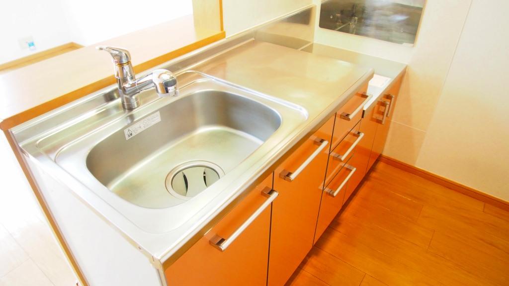 ラ・ルミエ-ル・メゾン Ⅲ 02010号室のキッチン