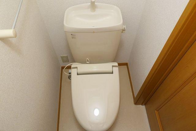 ラ・ルミエ-ル・メゾン Ⅲ 02010号室のトイレ