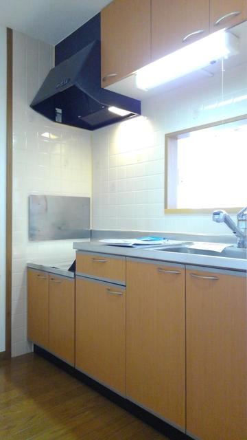 ウエストコートA 01010号室のキッチン
