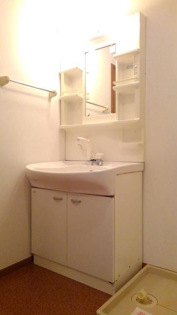 ウエストコートA 01010号室の洗面所