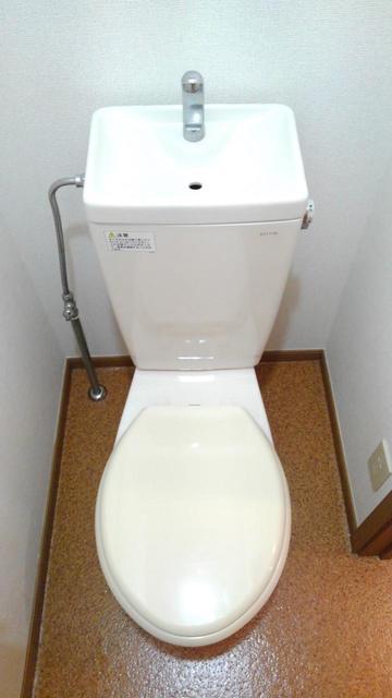 ウエストコートA 01010号室のトイレ