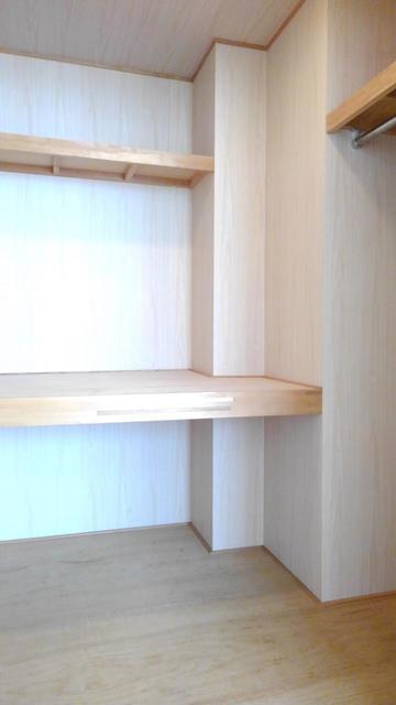 ウエストコートA 01010号室の収納