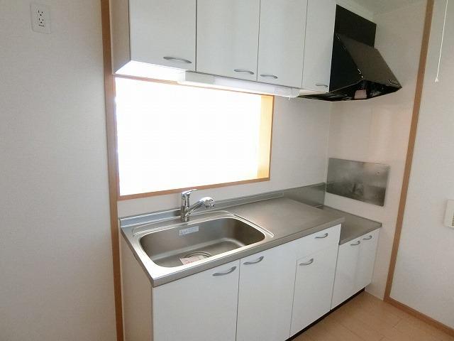 ブリッサa 02040号室のキッチン