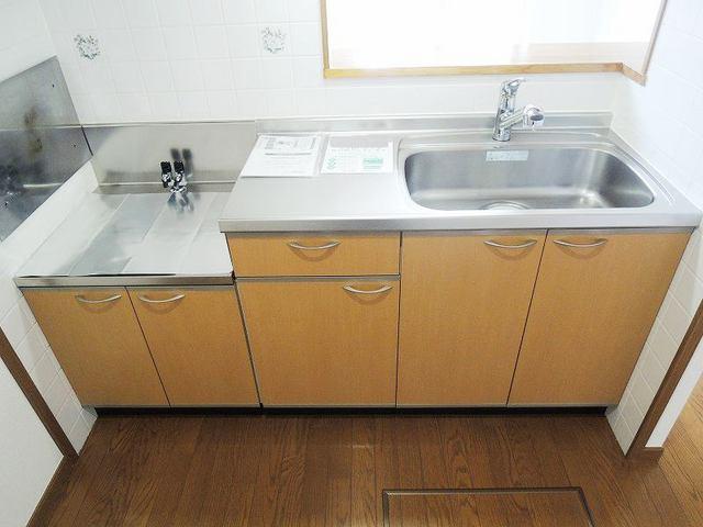 アルカディア 01040号室のキッチン